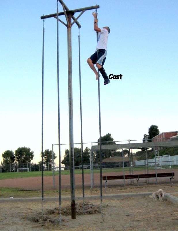 Brian Pole Dancing