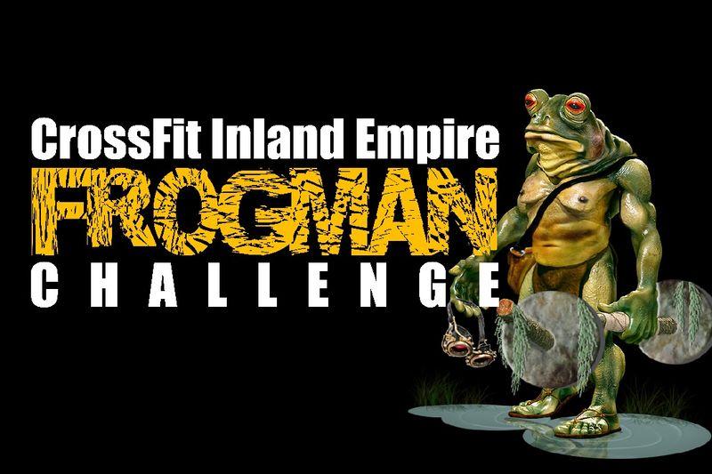Frogman Logo n title